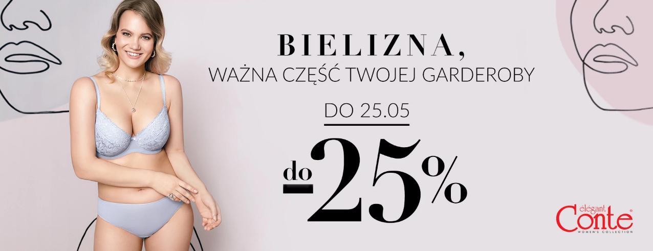 Quiosque: do 25% rabatu na bieliznę marki Conte