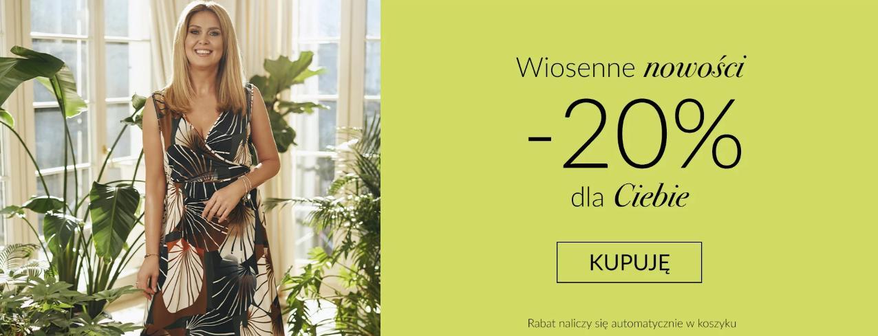 Quiosque: 20% zniżki na wiosenne nowości - odzież damską