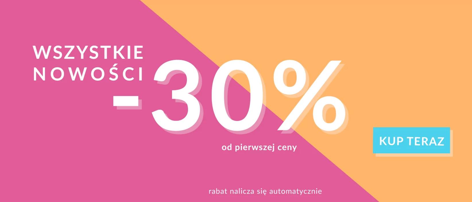 Quiosque Quiosque: 30% rabatu na nowości z kolekcji odzieży damskiej