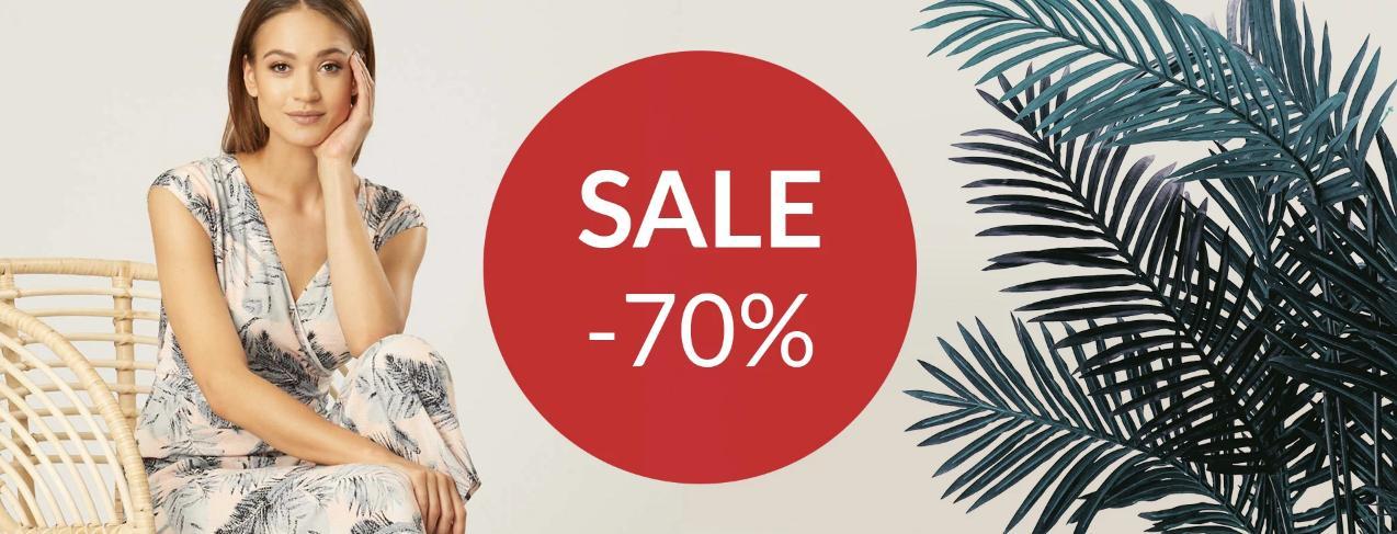 Quiosque: wyprzedaż 70% rabatu na odzież damską