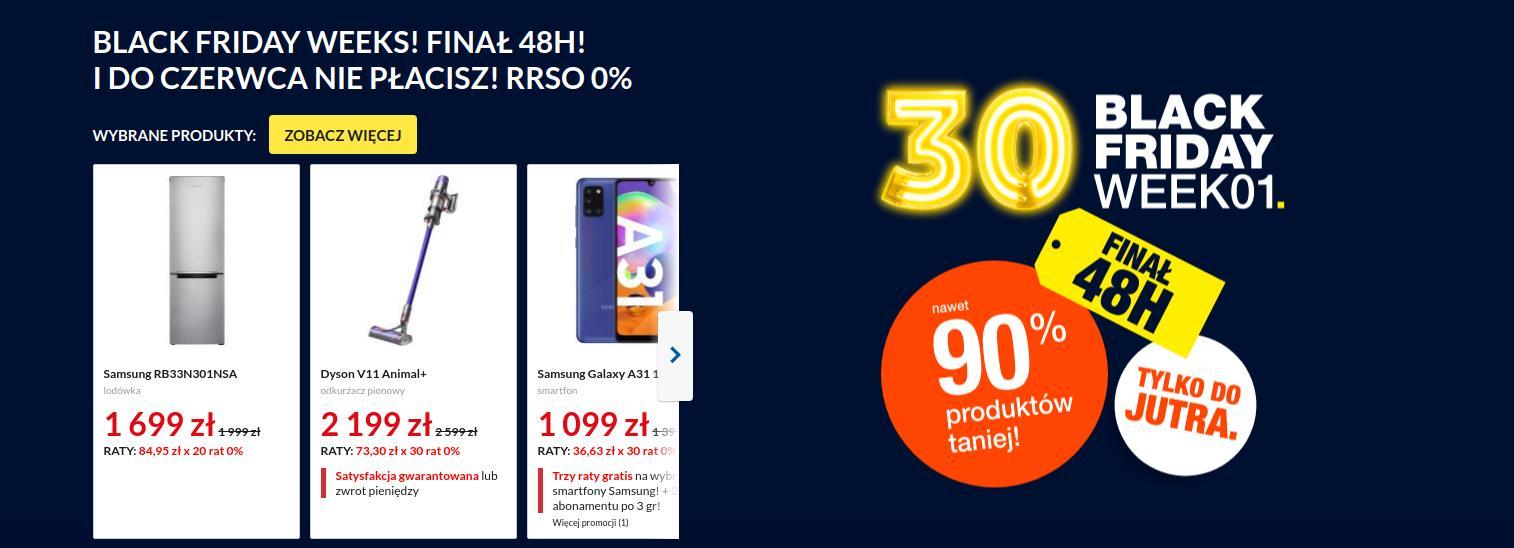 RTV EURO AGD: Nocna Promocja Premium na telewizory, smartfony,  laptopy, AGD i wiele innych