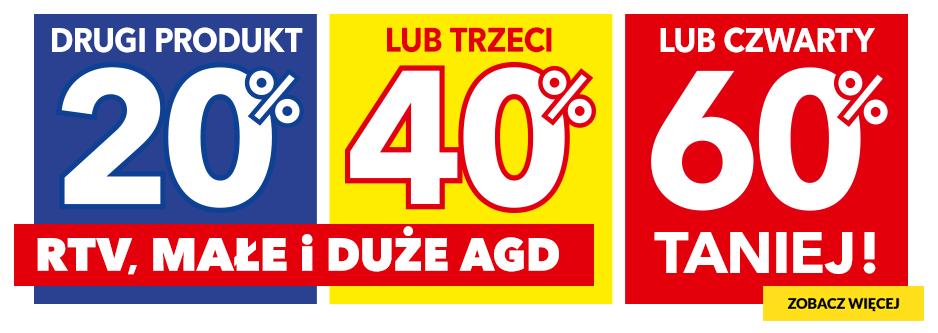 RTV EURO AGD: do 60% zniżki na RTV, małe i duże AGD