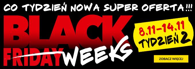 Black Friday RTV EURO AGD: Black Weeks Tydzień 2 - co tydzień nowa super oferta