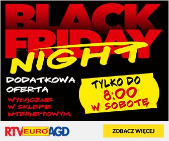 RTV EURO AGD: Black Friday Night - oferta specjalna