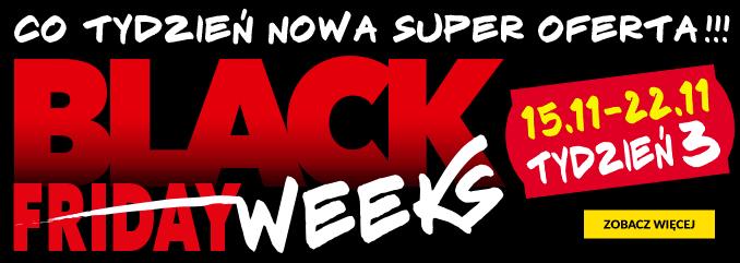 Black Friday RTV EURO AGD: Black Weeks Tydzień 3 - co tydzień nowa super oferta