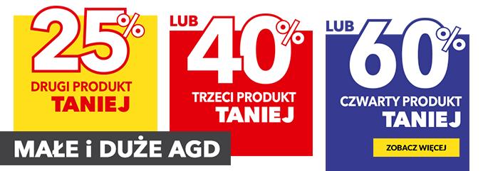 RTV EURO AGD: do 60% zniżki zniżki na małe i duże AGD