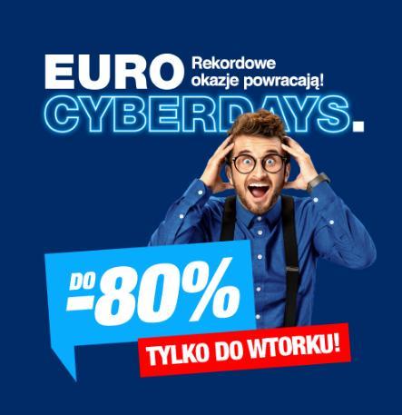RTV EURO AGD RTV EURO AGD: do 80% rabatu na sprzęt AGD i RTV m.in. laptopy, komputery, telewizory, telefony