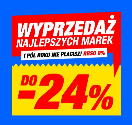 RTV EURO AGD: do 24% rabatu na najlepsze marki RTV i AGD
