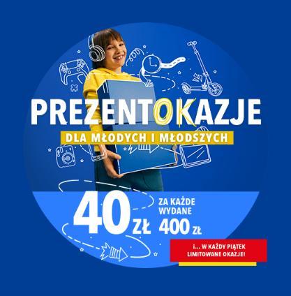 RTV EURO AGD: 40 zł zniżki za każde wydane 400 zł na prezenty dla dzieci i młodzieży