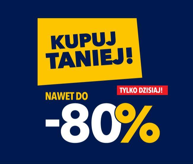 RTV EURO AGD: do 80% rabatu na wybrany sprzęt AGD i RTV