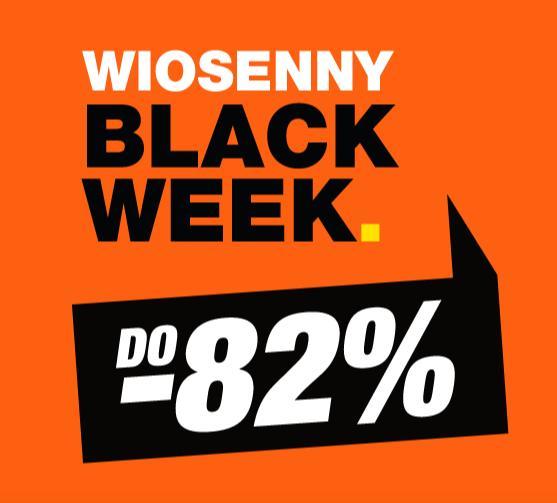 RTV EURO AGD: do 82% zniżki na sprzęt RTV oraz AGD - wiosenny Black Week