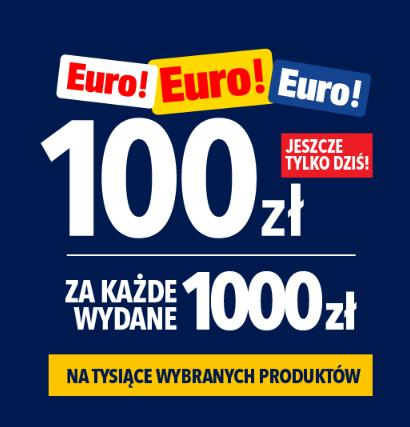 RTV EURO AGD: 100 zł rabatu za każde wydane 1000 zł na telewizory, laptopy, telefony, sprzęt AGD i wiele innych