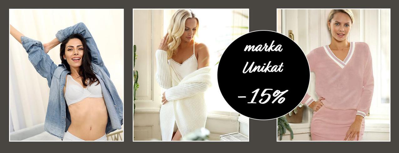 Rafjolka: 15% zniżki na odzież i bieliznę marki Unikat