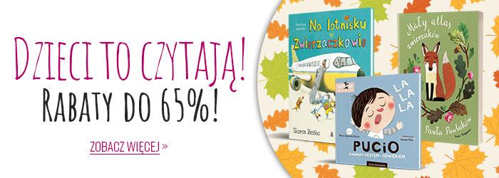 Ravelo: do 65% rabatu na książki dla dzieci