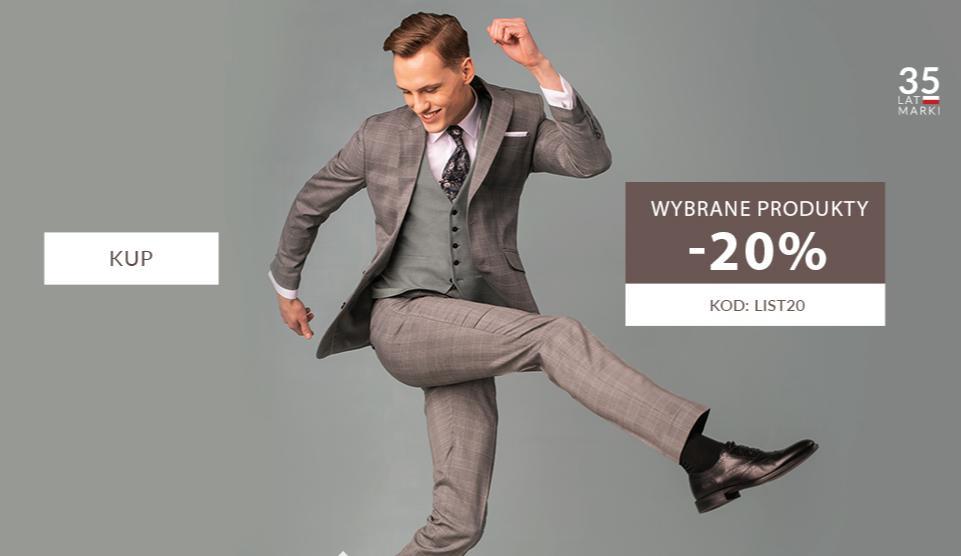 Recman: 20% rabatu na odzież męską - wybrane produkty