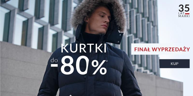 Recman: finał wyprzedaży do 80% rabatu na kurtki męskie