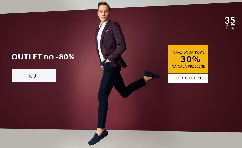 Recman: dodatkowe 30% zniżki na odzież męską z kategorii outlet