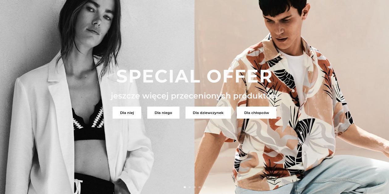 Reserved Reserved: do 64% zniżki na odzież, obuwie oraz akcesoria z oferty specjalnej