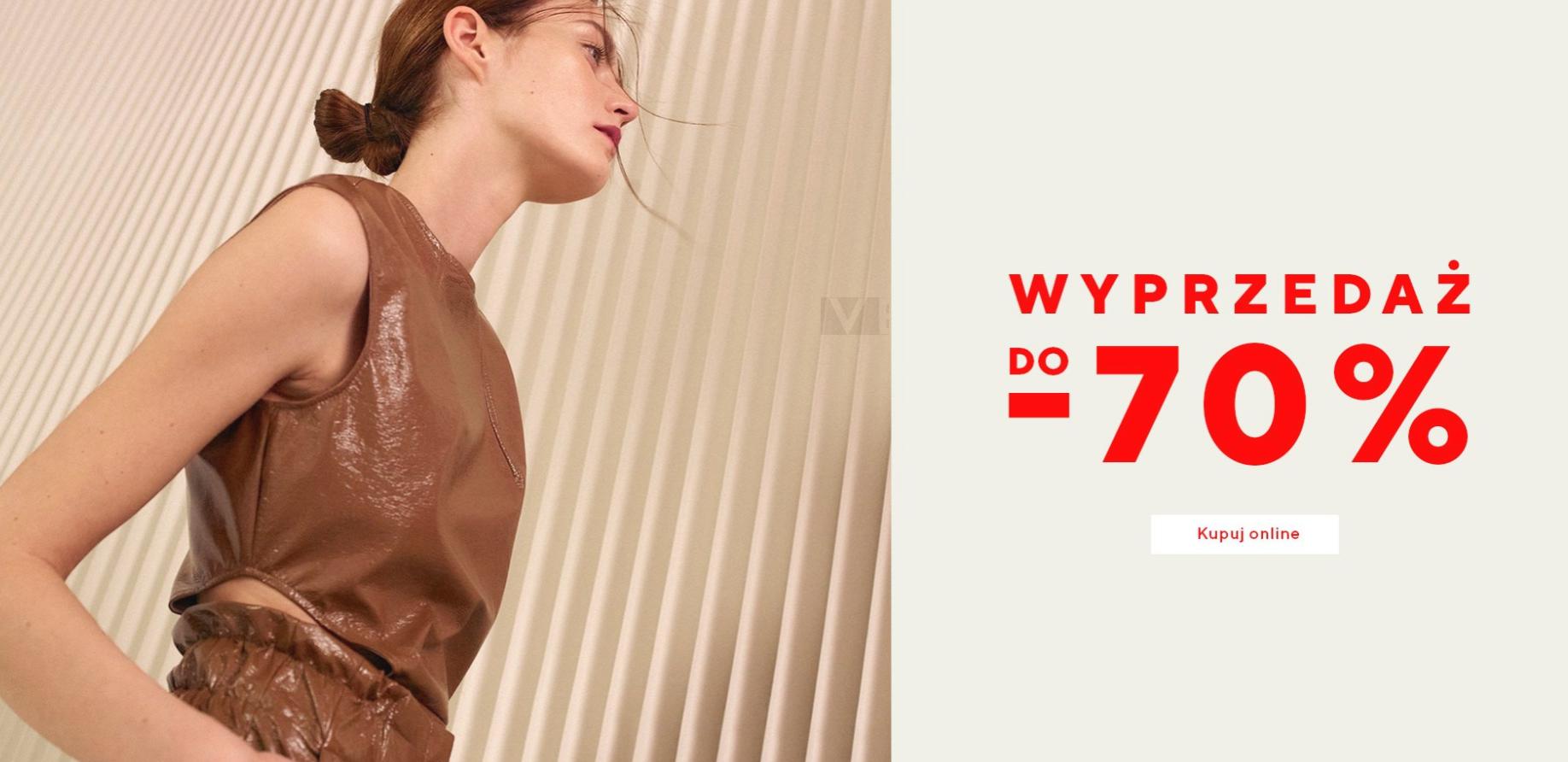 Reserved: wyprzedaż do 70% rabatu na odzież damską                         title=
