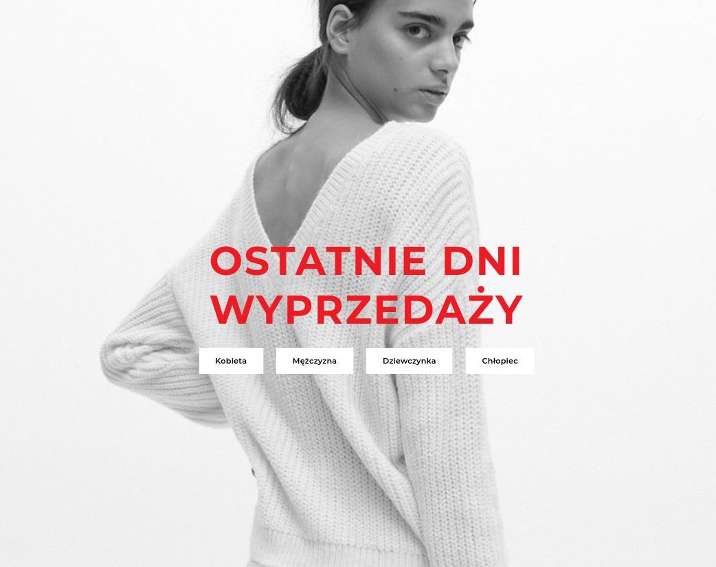 Reserved: wyprzedaż do 70% zniżki na odzież damską, męską oraz dziecięcą - ostatnie dni