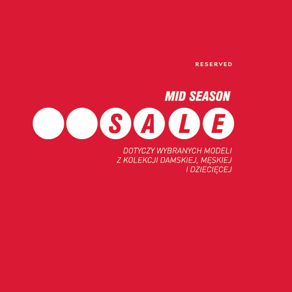 Reserved: Mid Season Sale do 50% zniżki