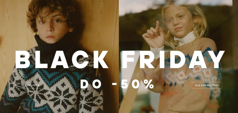 Reserved: Black Friday do 50% zniżki na odzież dla dziewczynek i chłopców                         title=
