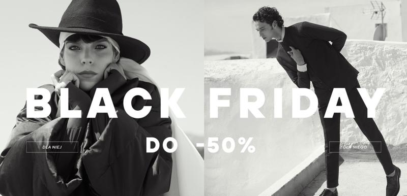 Reserved: Black Friday do 50% zniżki na odzież dla kobiet i mężczyzn                         title=