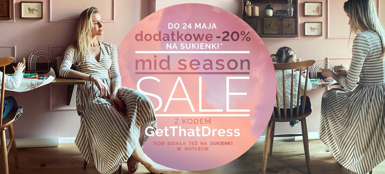 Risk: dodatkowe 20% zniżki na sukienki z wyprzedaży