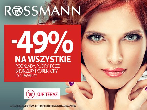 Rossmann: 49% zniżki na wybrane produkty                         title=