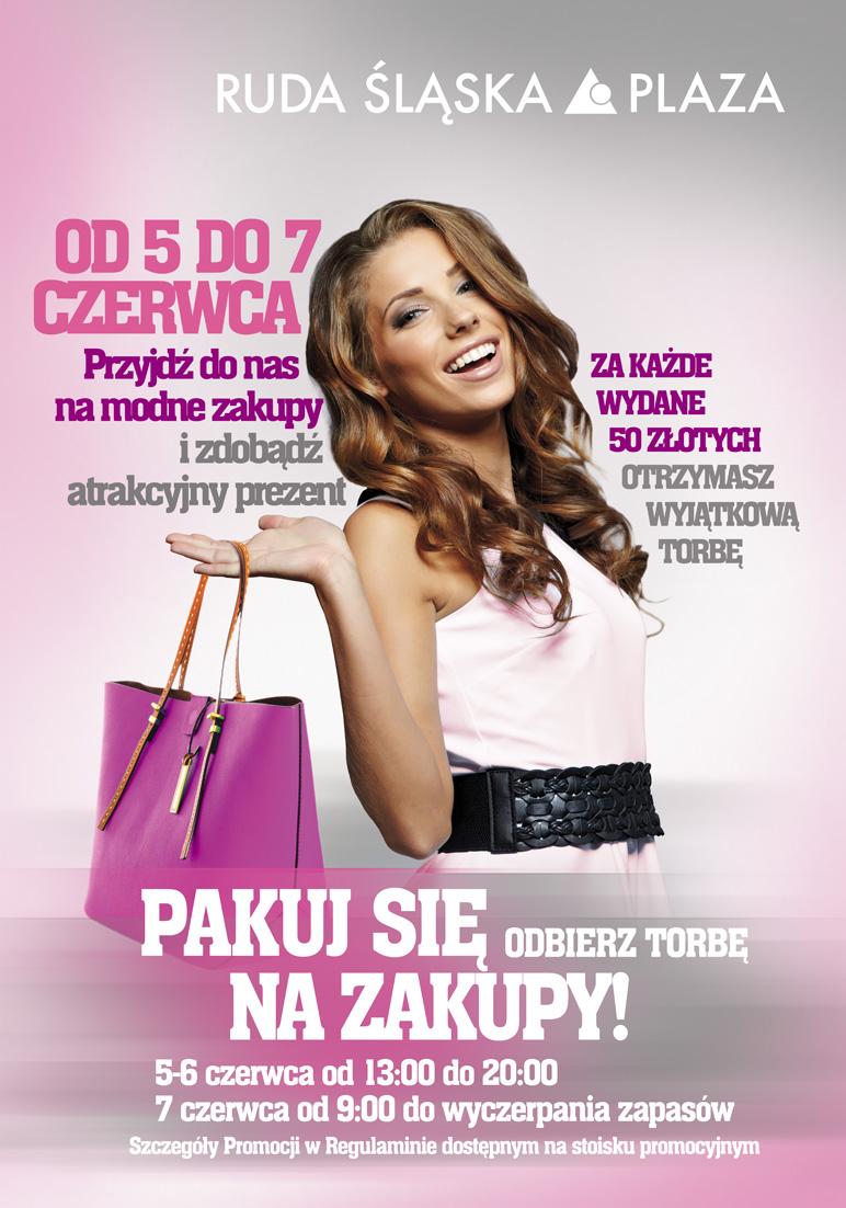 Pakuj się na zakupy! Ruda Śląska Plaza 5-7 czerwca 2014                         title=