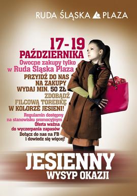 Zdobądź filcową torebkę w Ruda Śląska Plaza