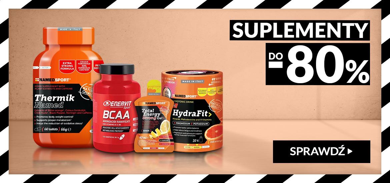 RunnersClub.pl: wyprzedaż do 80% rabatu na suplementy diety dla sportowców