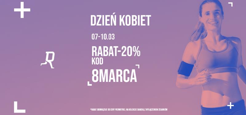 RunnersClub.pl: z okazji Dnia Kobiet 20% zniżki na odzież i obuwie sportowe