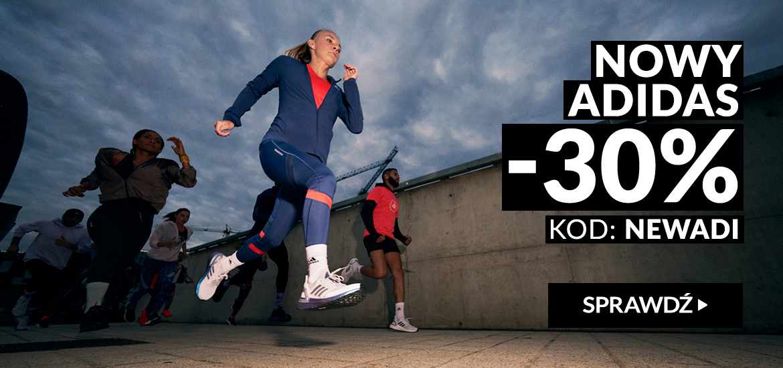 RunnersClub.pl: 30% rabatu na buty i ubrania sportowe Adidas