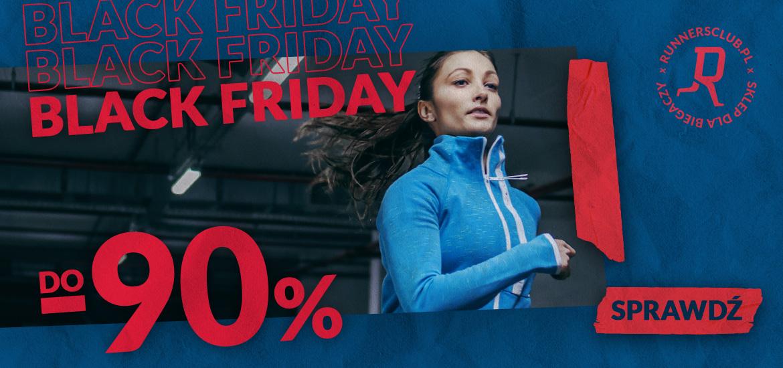 RunnersClub.pl: Black Friday do 90% zniżki na buty i ubrania sportowe różnych marek