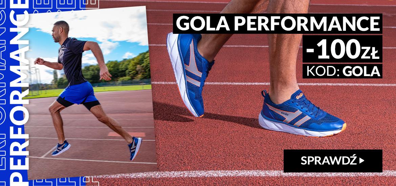 RunnersClub.pl: 100 zł zniżki na obuwie do biegania Gola Performance
