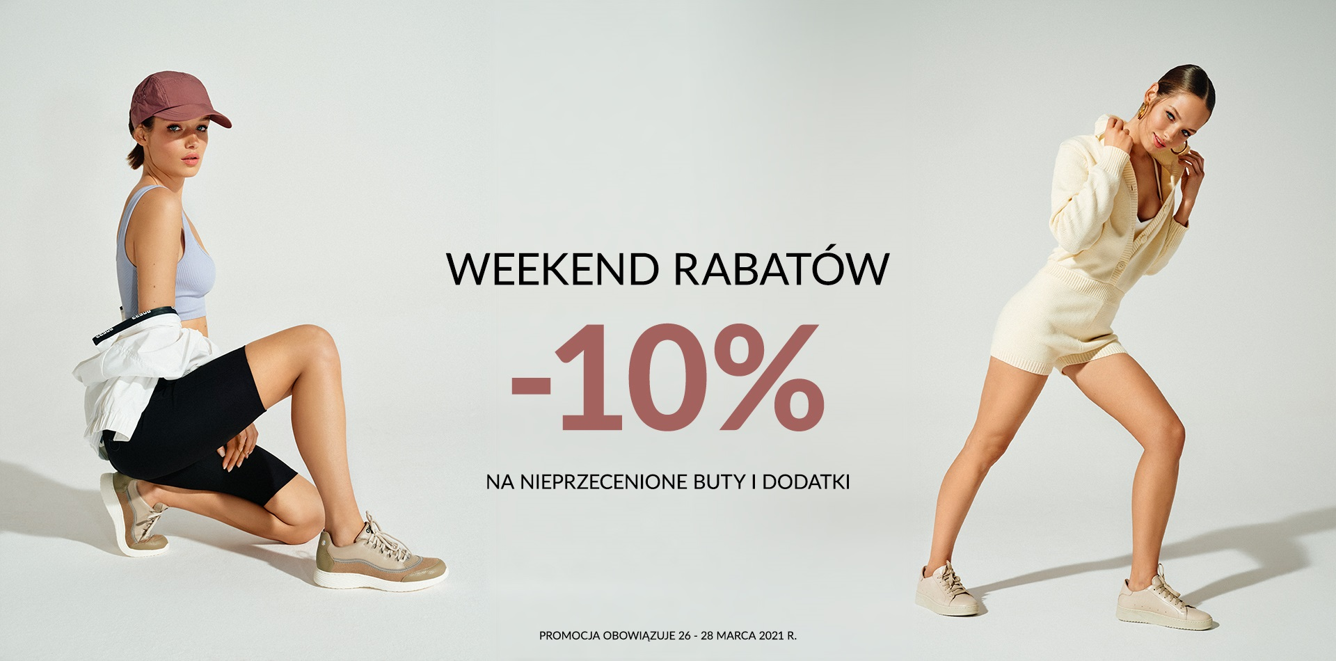 Ryłko Ryłko: Weekend Rabatów 10% zniżki na nieprzecenione buty i dodatki