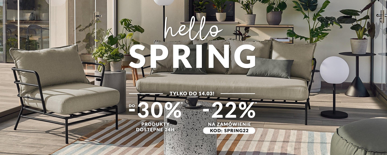 SF Meble: do 30% zniżki na biurka, dywany, fotele, kanapy, komody, krzesła, łóżka, narożniki, stoły