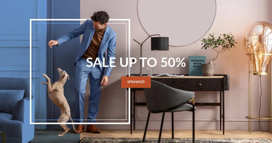 SF Meble: wyprzedaż do 50% rabatu na meble do domu i mieszkania
