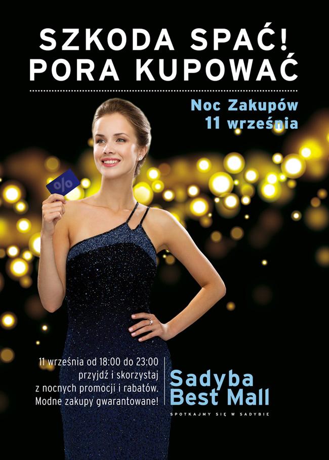Noc Zakupów w Sadyba Best Mall w Warszawie 11 września 2015                         title=