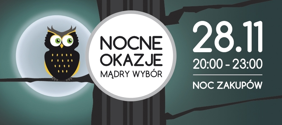 Noc Zakupów w centrum Sarni Stok w Bielsko-Białej 28 listopada 2014