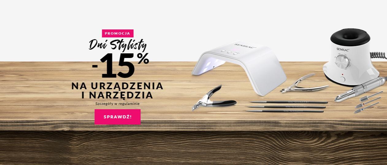Semilac: 15% rabatu na urządzenia i narzędzia do paznokci