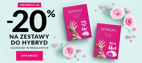 Semilac Semilac: 20% zniżki na zestaw do hybryd