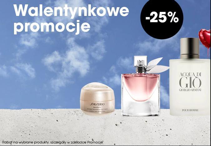 Sephora: 25% zniżki na wybrane kosmetyki - prezent na Walentynki