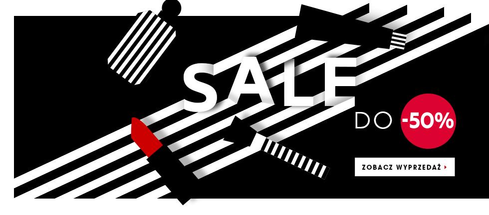 Sephora: wyprzedaż do 50% zniżki                         title=