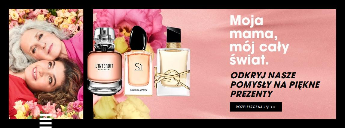 Sephora Sephora: prezenty na Dzień Matki w super cenach od 79zł