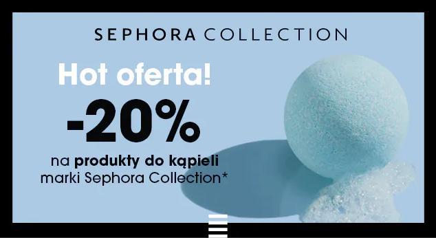 Sephora: 20% zniżki na produkty do kąpieli marki Sephora Collection