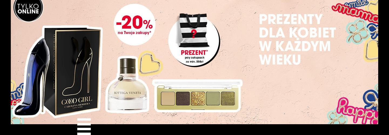 Sephora: 20% zniżki na cały asortyment z okazji Dnia Mamy