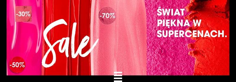 Sephora: letnia wyprzedaż do 70% rabatu na wybrane kosmetyki i perfumy                         title=