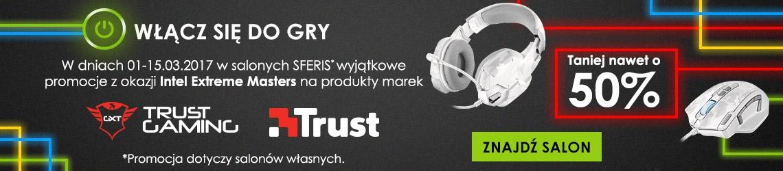 Sferis: do 50% zniżki na produkty marek Trust Gaming oraz Trust